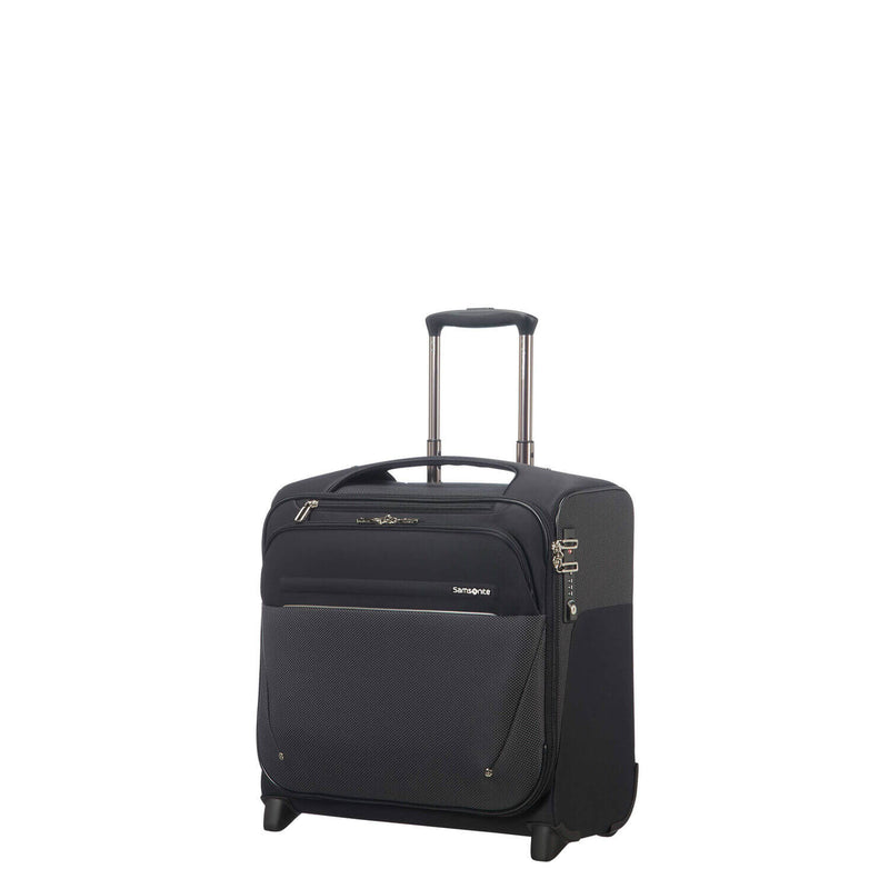 Samsonite B-Lite Icon Rolling Tote in Black front view