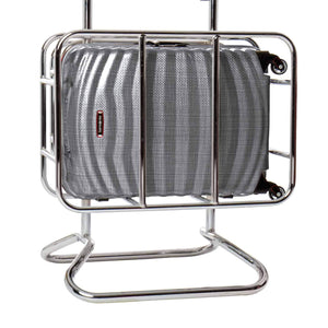 Samsonite Lite-Shock Sport Carry-On in Eclipse Grey in cage