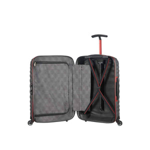 Samsonite Lite-Shock Sport Carry-On in Eclipse Grey inside view
