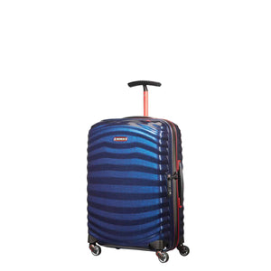 Samsonite Lite-Shock Sport Carry-On in Nautical Blue front view