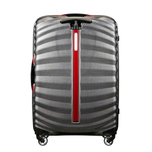 Samsonite Lite-Shock Sport Medium in Eclipse Grey rear view