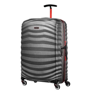 Samsonite Lite-Shock Sport Medium in Eclipse Grey front view