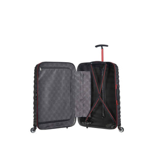 Samsonite Lite-Shock Sport Medium in Eclipse Grey inside view