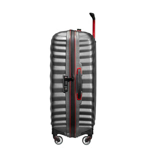 Samsonite Lite-Shock Sport Medium in Eclipse Grey side view