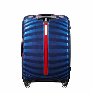 Samsonite Lite-Shock Sport Medium in Nautical Blue rear view