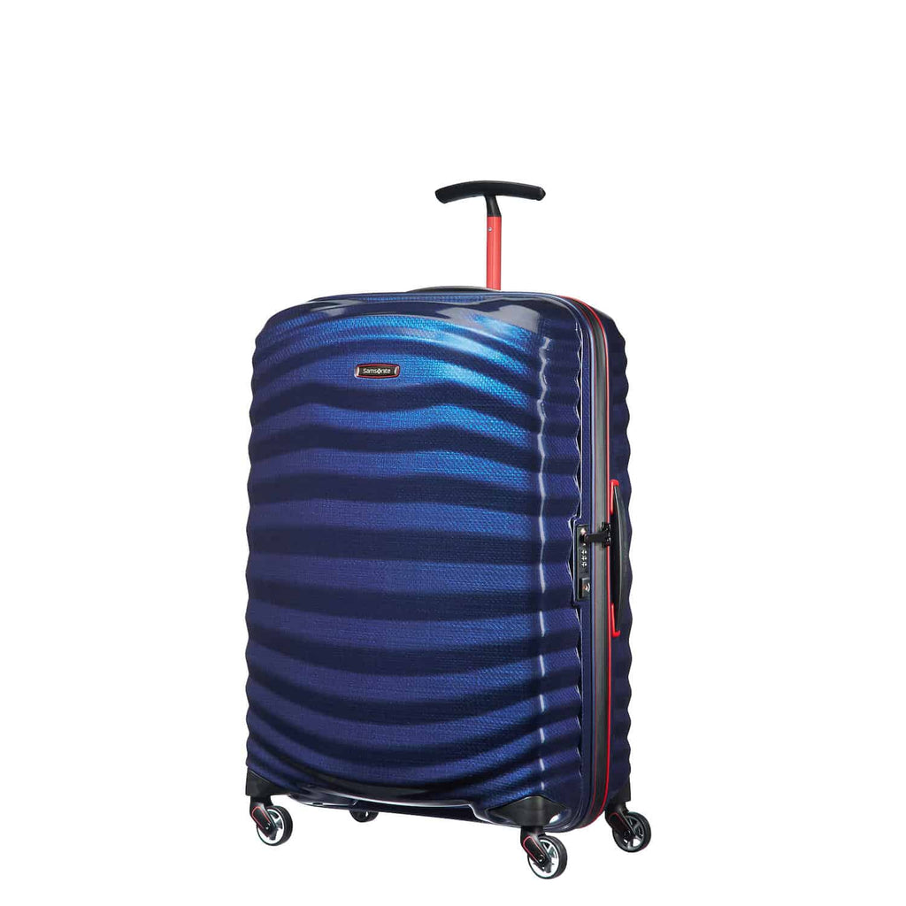 Samsonite Lite-Shock Sport Medium in Nautical Blue front view