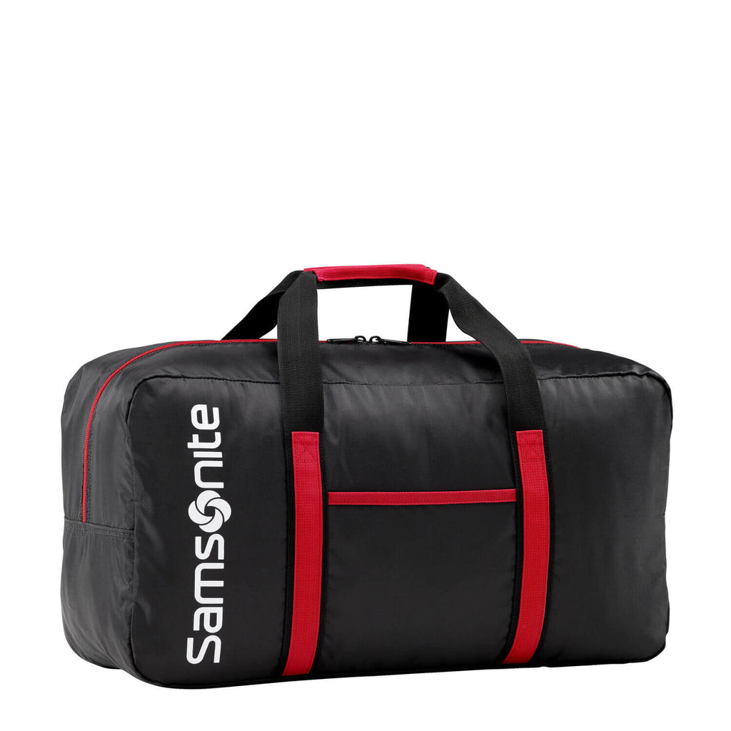 Samsonite Tote-A-Ton Carry-On Duffle in Black front view
