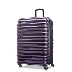 Samsonite Ziplite 4.0 Spinner Large Expandable in Purple front view