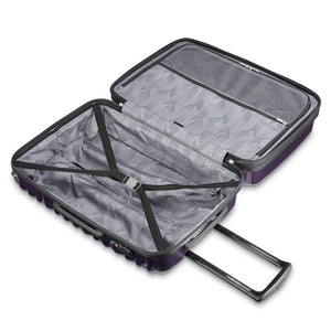 Samsonite Ziplite 4.0 Spinner Large Expandable in Purple inside view