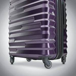 Samsonite Ziplite 4.0 Spinner Large Expandable in Purple wheels