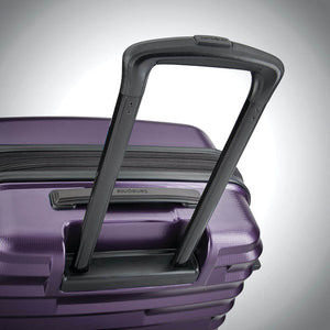 Samsonite Ziplite 4.0 Spinner Large Expandable in Purple pull handle