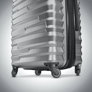 Samsonite Ziplite 4.0 Spinner Large Expandable in Silver Oxide wheels