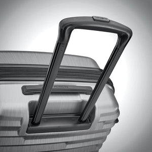 Samsonite Ziplite 4.0 Spinner Large Expandable in Silver Oxide pull handle