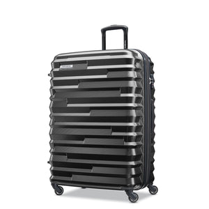Samsonite Ziplite 4.0 Spinner Large Expandable in Brushed Anthracite front view