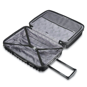 Samsonite Ziplite 4.0 Spinner Large Expandable in Brushed Anthracite inside view