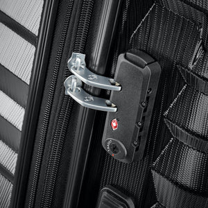 Samsonite Ziplite 4.0 Spinner Large Expandable in Brushed Anthracite TSA lock