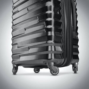 Samsonite Ziplite 4.0 Spinner Large Expandable in Brushed Anthracite wheels