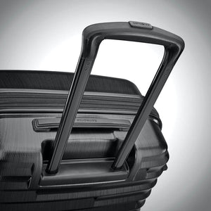 Samsonite Ziplite 4.0 Spinner Large Expandable in Brushed Anthracite pull handle