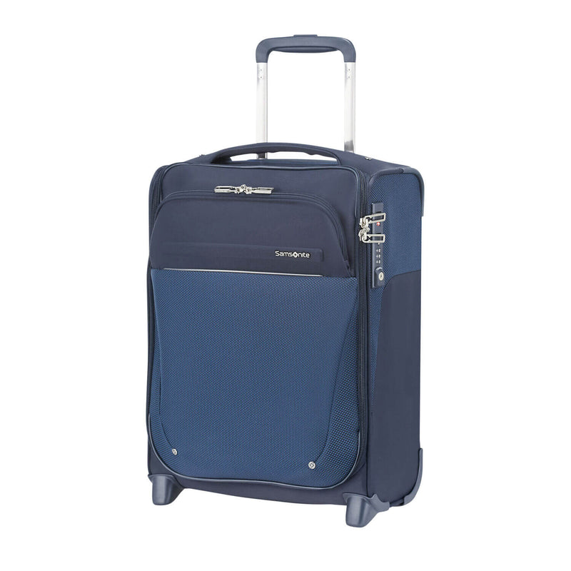 Samsonite B-Lite Icon Underseater in Blue front view