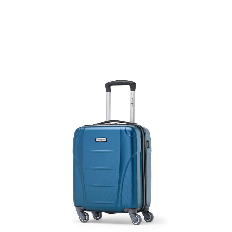 Samsonite Winfield NXT Spinner Underseater in Blue front view