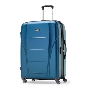 Samsonite Winfield NXT Spinner Large Expandable in Blue front view