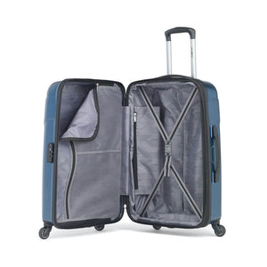 Samsonite Winfield NXT Spinner Large Expandable in Blue inside view