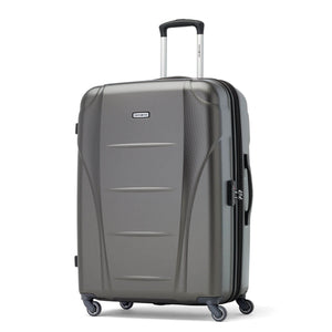 Samsonite Winfield NXT Spinner Large Expandable in Charcoal front view