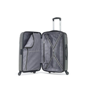 Samsonite Winfield NXT Spinner Large Expandable in Charcoal inside view