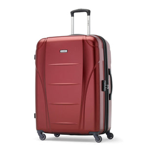 Samsonite Winfield NXT Spinner Large Expandable in Dark Red front view