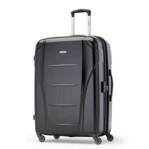 Samsonite Winfield NXT Spinner Large Expandable in Brushed Black front view
