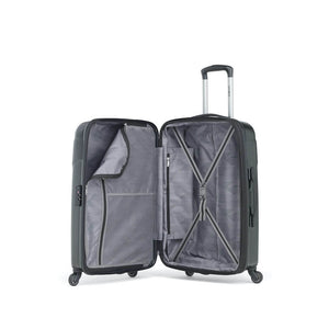 Samsonite Winfield NXT Spinner Large Expandable in Brushed Black inside view