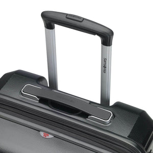 Samsonite Pursuit DLX Plus Spinner Medium Expandable in Black pull handle