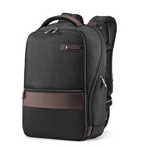 "Samsonite Kombiz Small Backpack 14"" in Black front view"