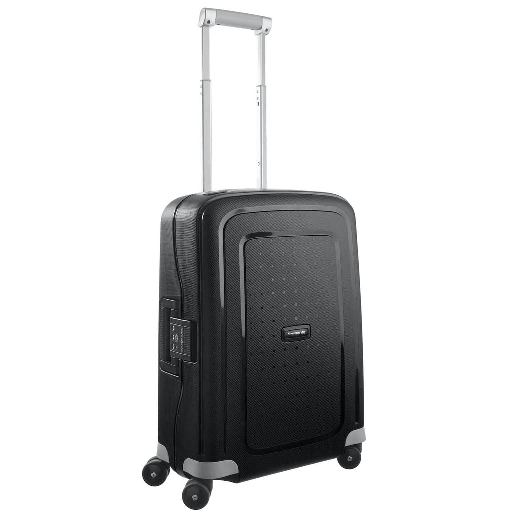 Samsonite Luggage S'cure carry-on black Forero's Bags and Luggage Vancouver Richmond