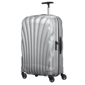 Samsonite Black Label Cosmolite Carry-On in Silver front view