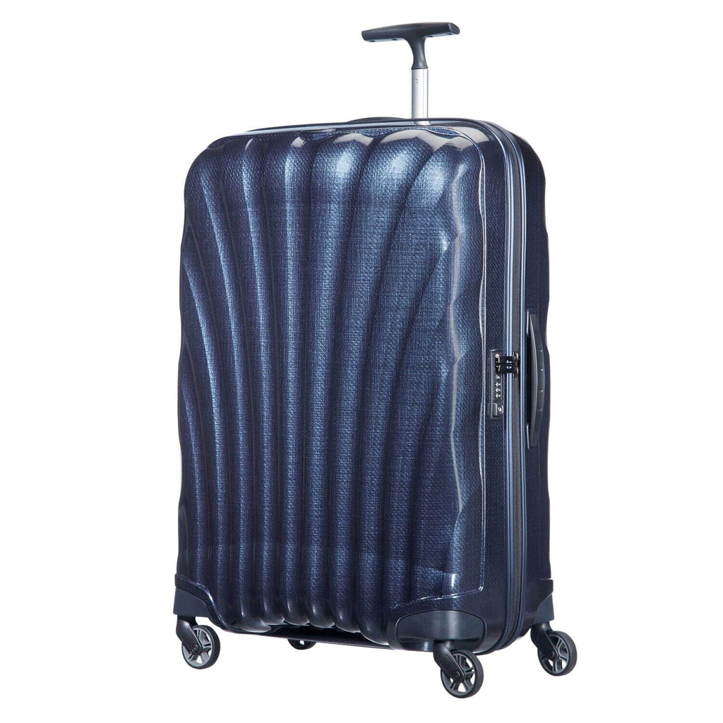 Samsonite Black Label Cosmolite Medium Spinner in Midnight Blue front view