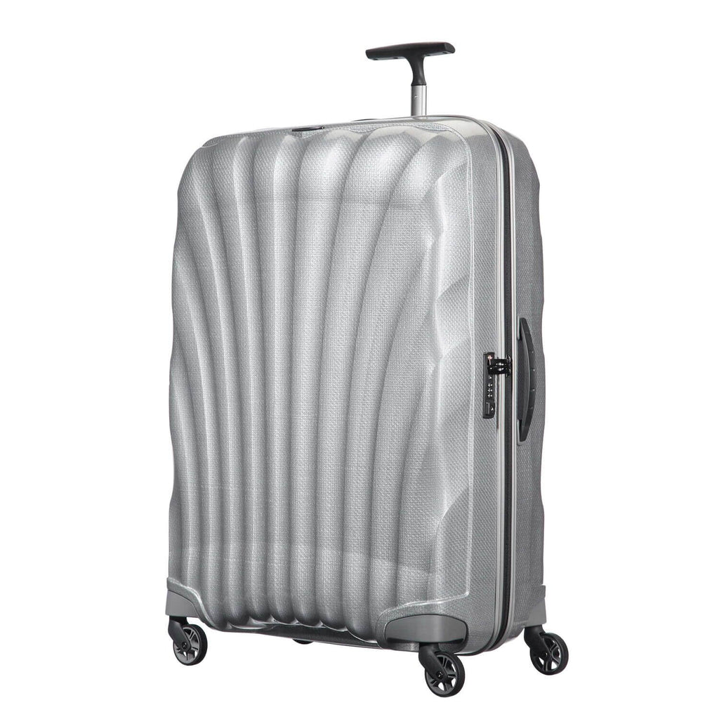 "Samsonite Black Label Cosmolite Large Spinner 28"" in Silver front view"