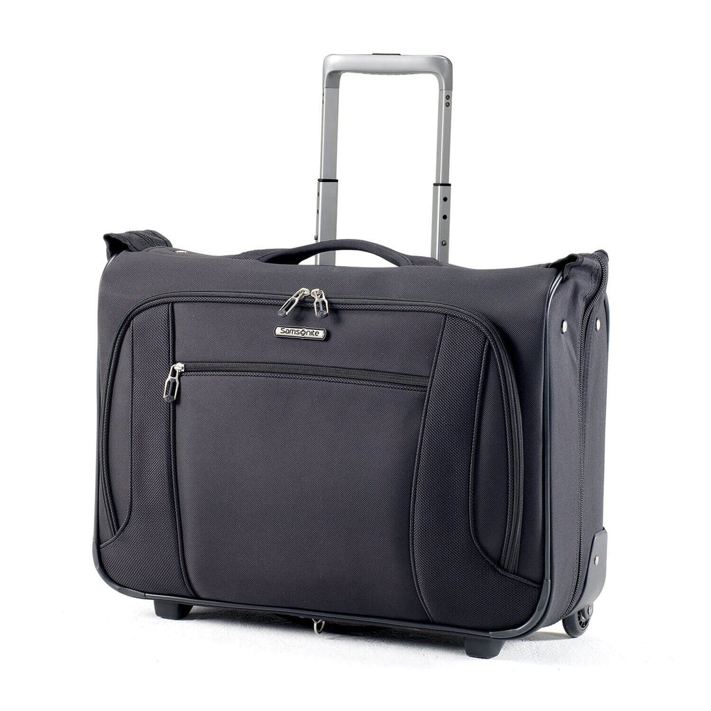 Samsonite Lift NXT Wheeled Garment Bag Carry-On in Black front view