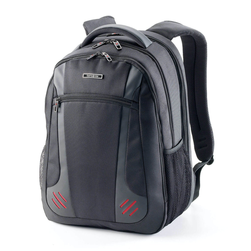 "Samsonite Tectonic 2 Laptop Pro Backpack w/ RFID 15.6"" in Black front view"