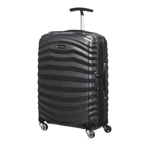 Samsonite Lite-Shock Carry-On in Black front view