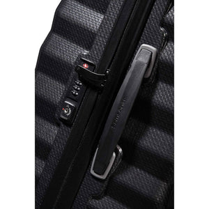 Samsonite Lite-Shock Carry-On in Black TSA lock