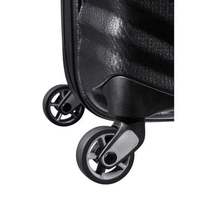 Samsonite Lite-Shock Carry-On in Black wheels