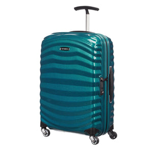 Samsonite Lite-Shock Carry-On in Petrol Blue front ciew
