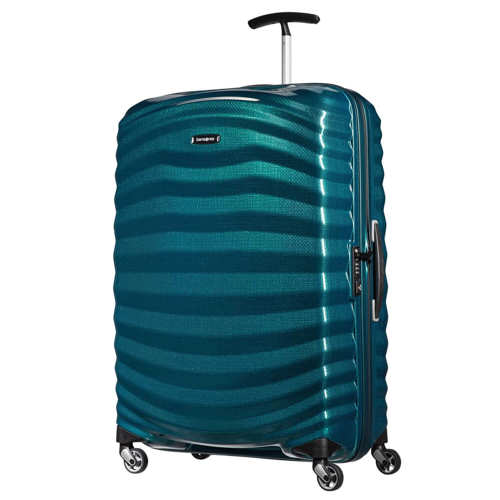 "Samsonite Black Label Lite-Shock Large 28"" in Petrol Blue front view"