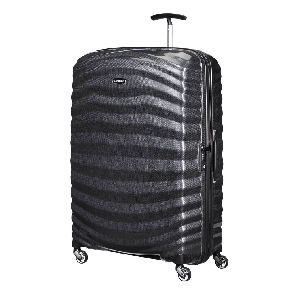 "Samsonite Lite-Shock Large 30"" in Black front view"