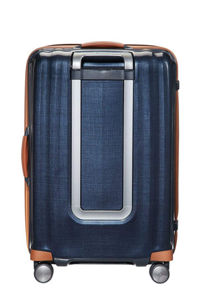 "Samsonite Lite-Cube DLX Large 28"" in Midnight Blue rear view"