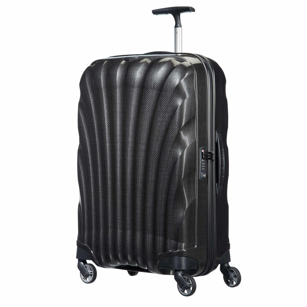 Samsonite Black Label Cosmolite Carry-On in Black front view