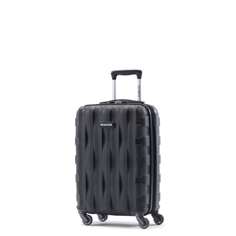 Samsonite Prestige 3D Spinner Carry-On Expandable in Black front view