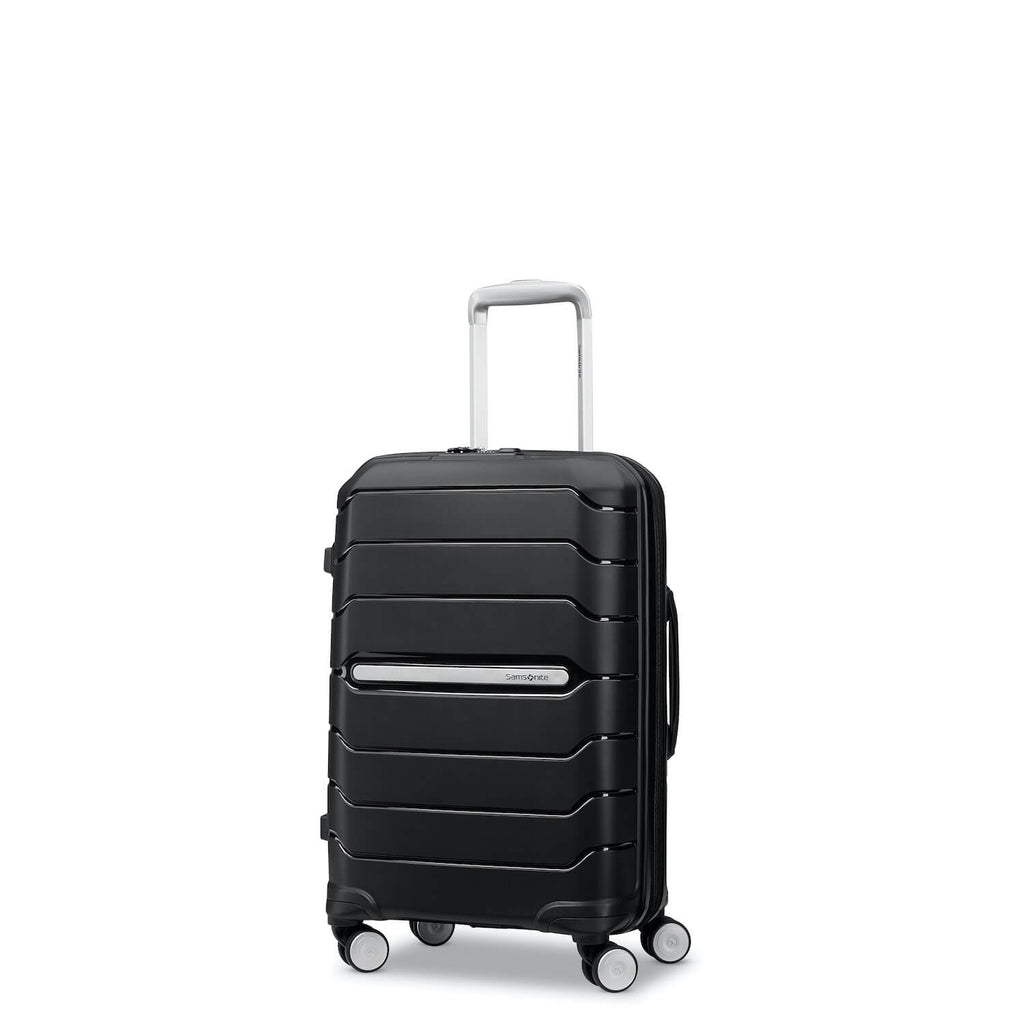 Samsonite Luggage Freeform carry-on black Forero's Bags Vancouver Richmond