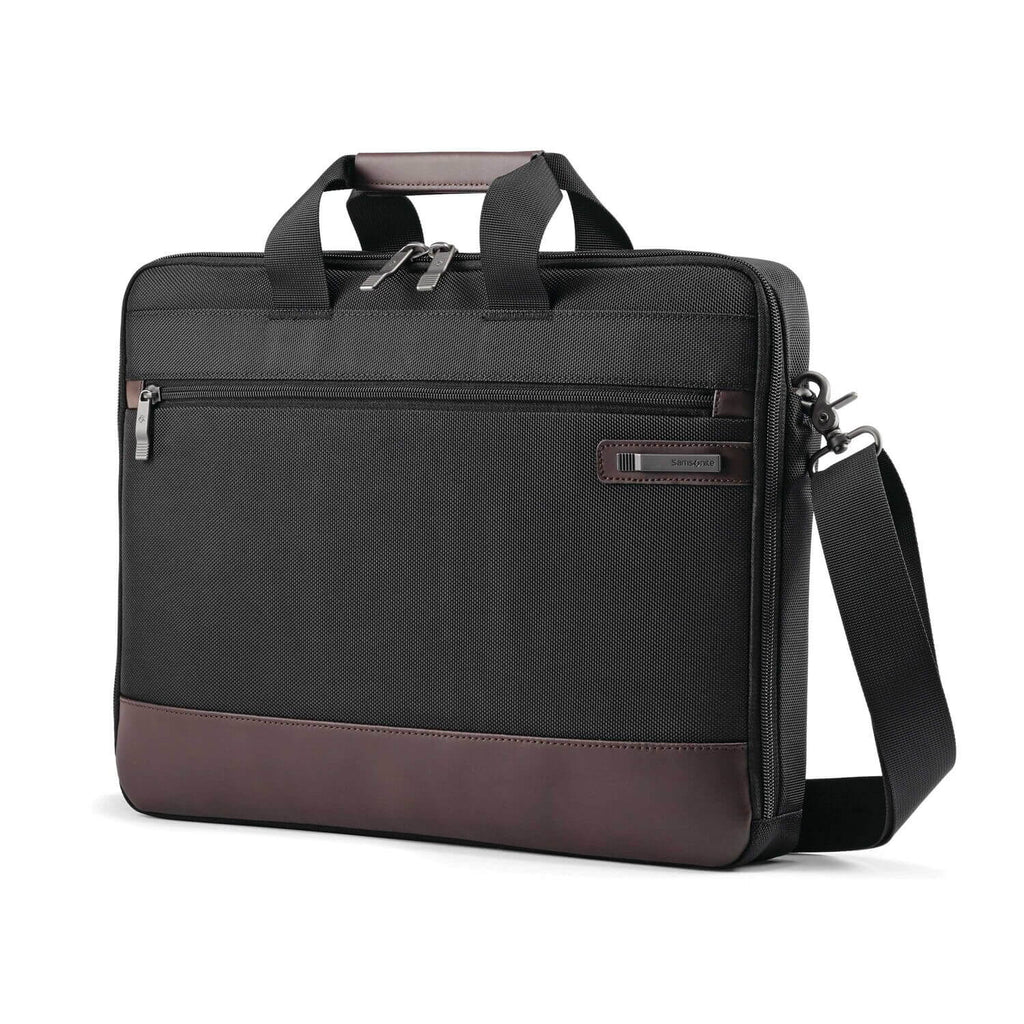 "Kombiz Slim Briefcase (15.6"") - Forero's Bags and Luggage"